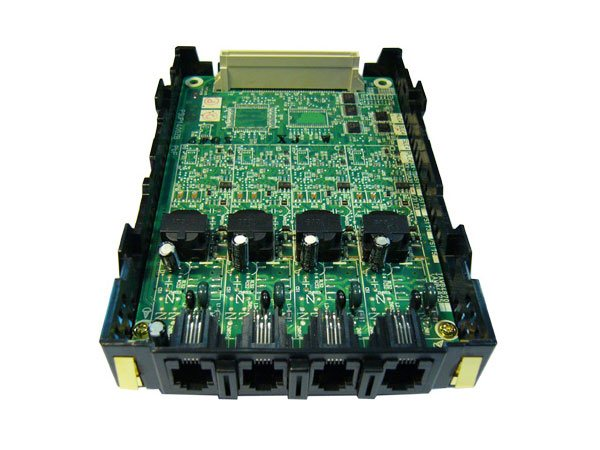 Cartela Panasonic KX-TDA3171NE, 4 porturi digitale