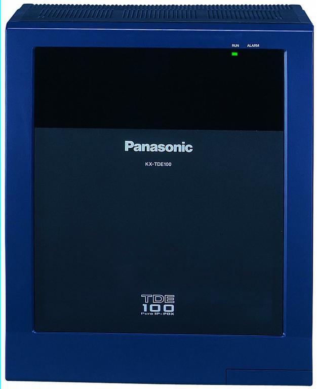 centrala telefonica panasonic kx-tde100ce, digitala ip