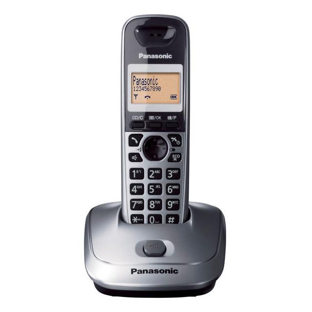 Telefon fara fir, metalic,caller ID, KX-TG2511FXM, Panasonic, TESTARE in showroom
