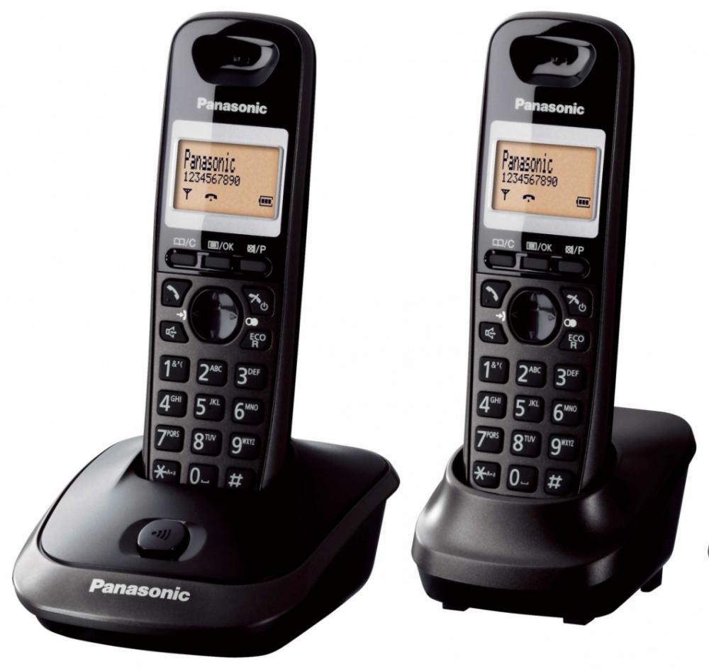 Telefon DECT twin, KX-TG2512FXT, Panasonic, TESTARE in showroom