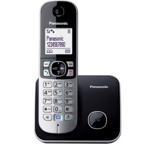 Telefon DECT negru, KX-TG6811FXB, Panasonic