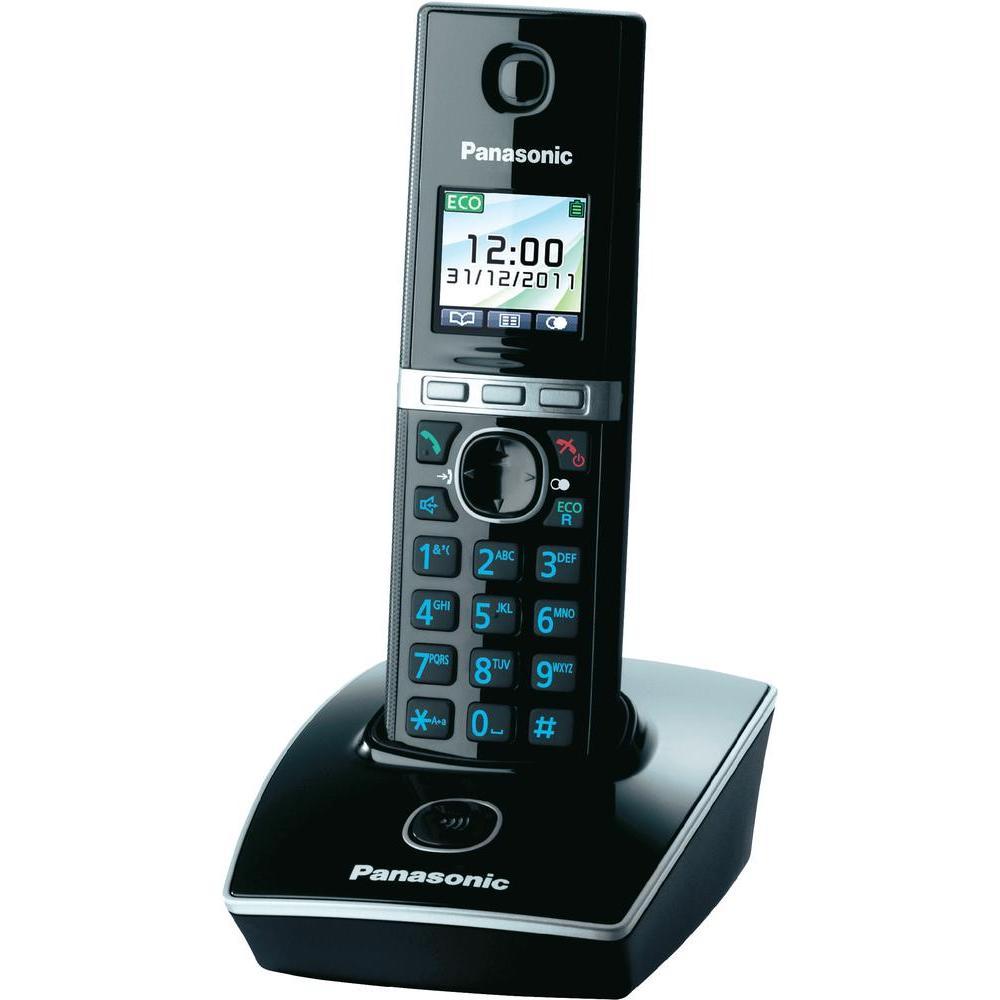 Telefon DECT negru, KX-TG8051FXB, Panasonic, TESTARE in showroom