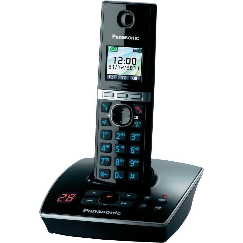 Telefon DECT cu robot, KX-TG8061FXB, Panasonic, TESTARE in showroom
