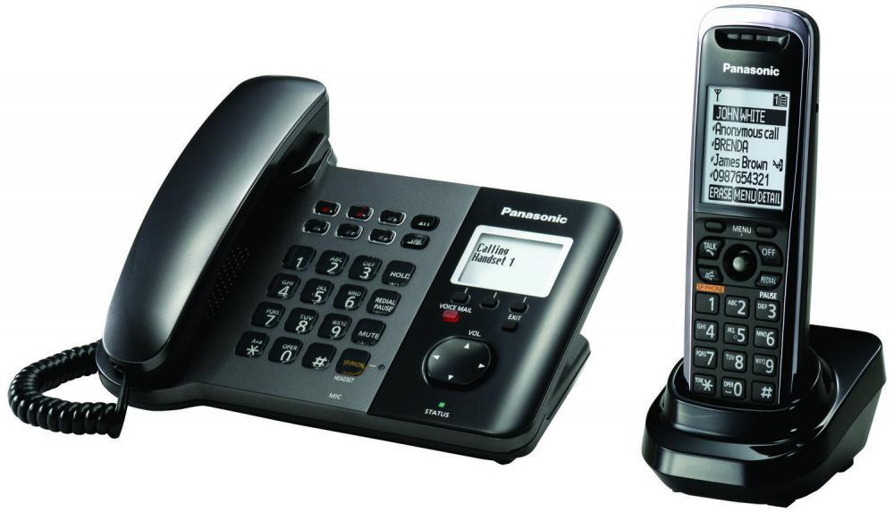 pachet panasonic kx-tgp550t01, telefon sip deskphone si receptor suplimentar