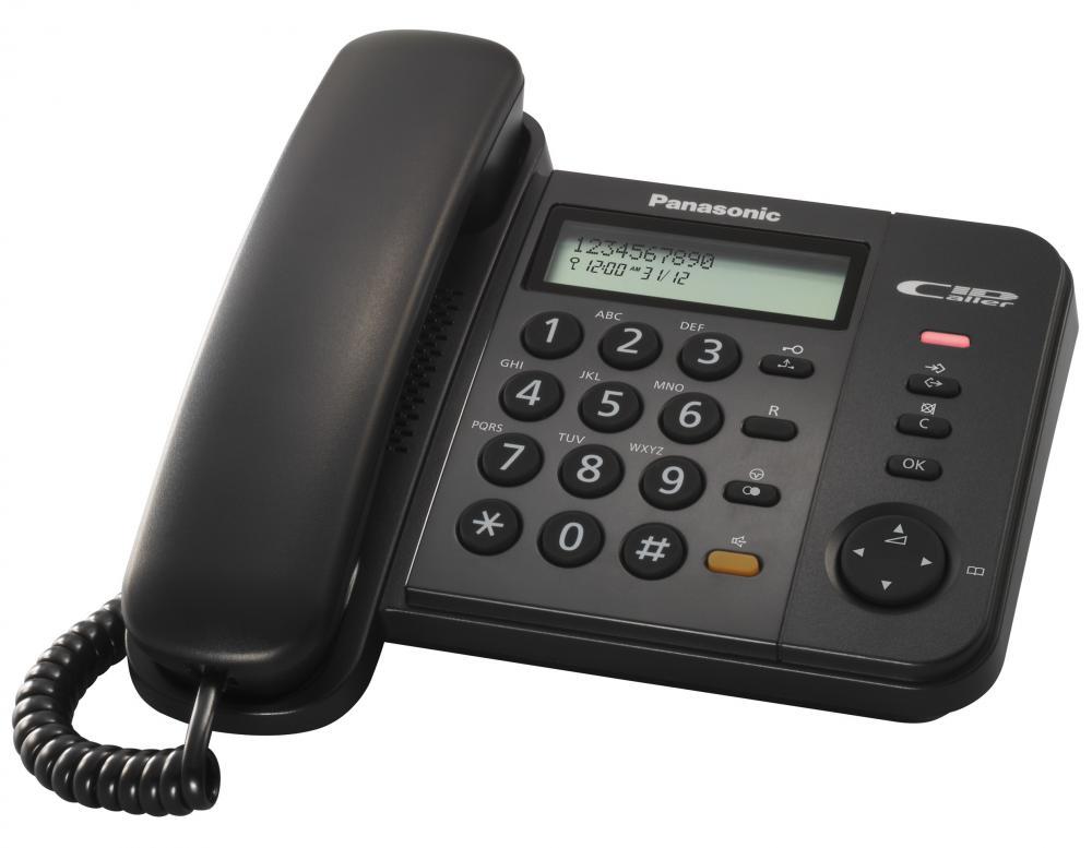 Telefon analogic Panasonic KX-TS580FXB, TESTARE in showroom