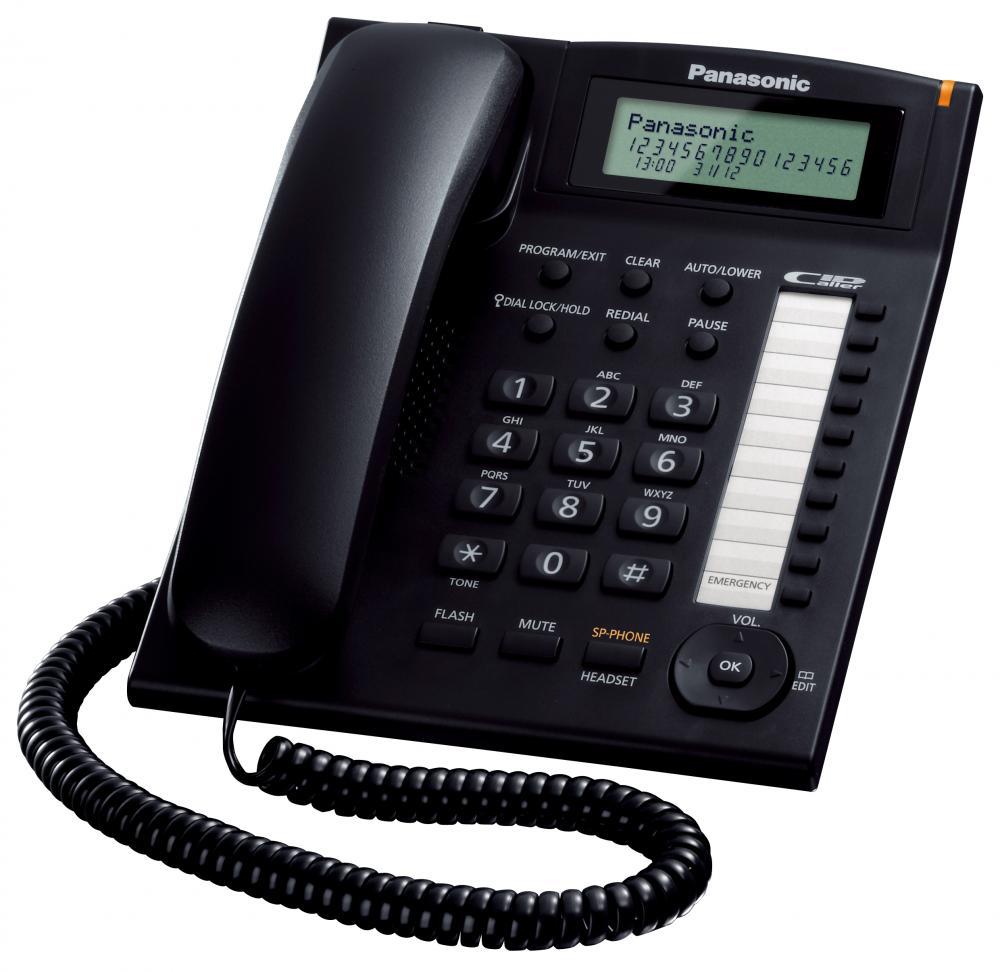 Telefon analogic Panasonic KX-TS880FXB, TESTARE in showroom