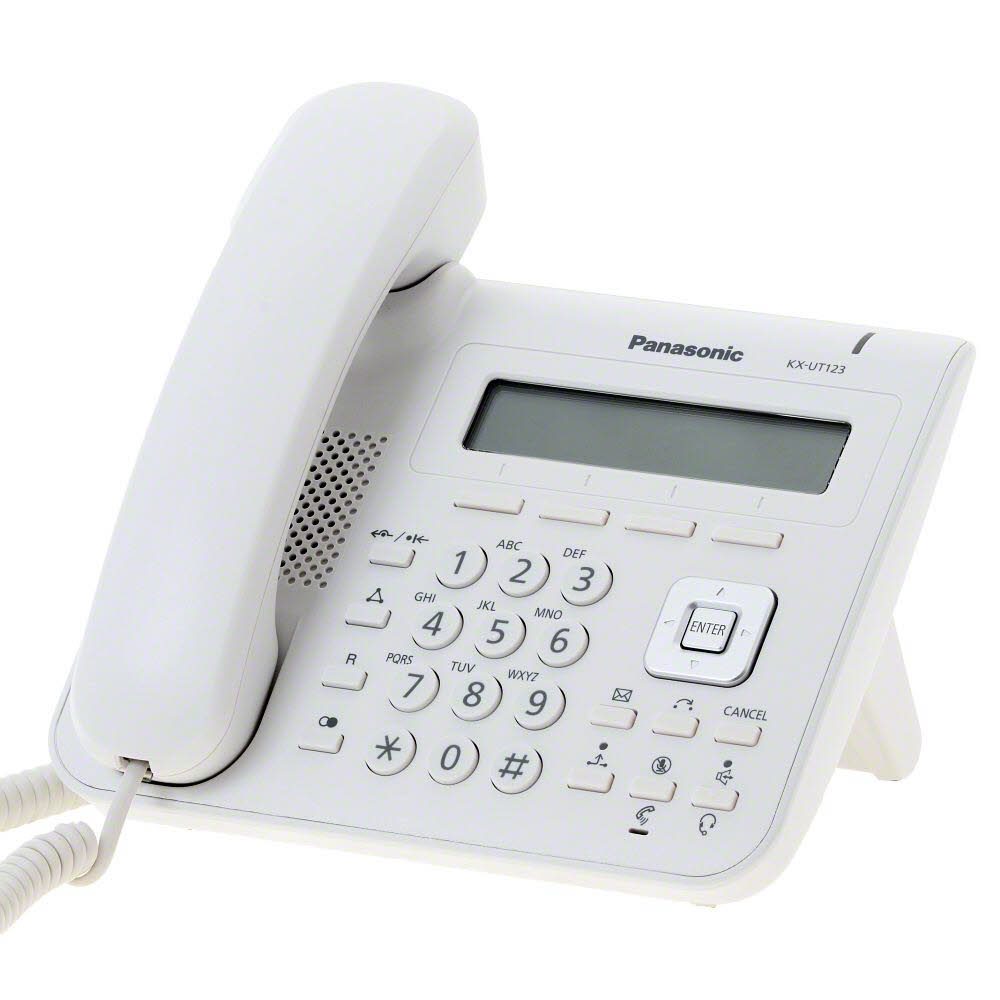 telefon sip panasonic kx-ut123ne, dual port
