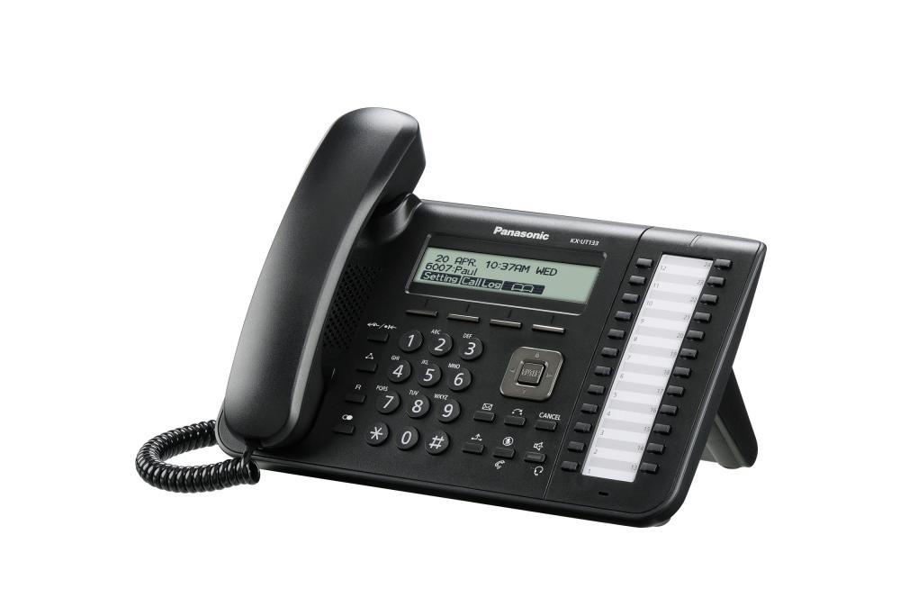 telefon sip panasonic kx-ut133ne-b