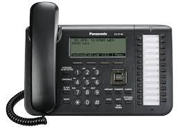 telefon sip panasonic kx-ut136ne-b, negru