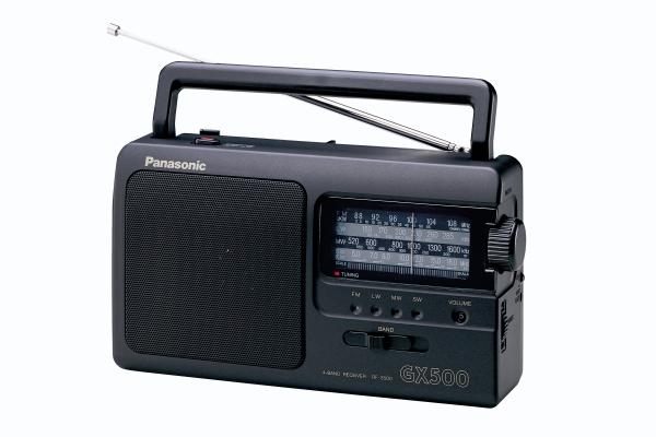 Radio portabil RF-3500E9-K ,FM/MW/LW/SW,Tuner analog Panasonic