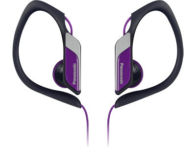 Casti tip Clip, difuzor de 14.3mm RP-HS34E-V Panasonic, violet