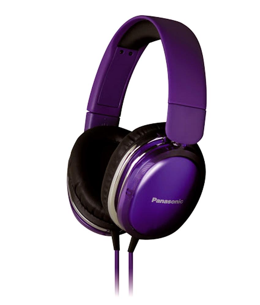Casti audio tip monitorcreate special pentru iPhone,Android RP-HX350E-V Panasonic,violet
