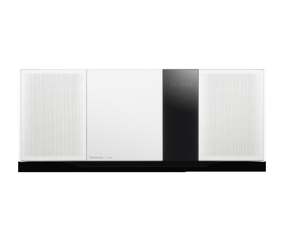 microsistem hi-fi panasonic sc-hc39ec-w