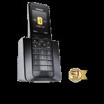 Telefon DECT Panasonic KX-PRS110FXW, design simplu si elegant