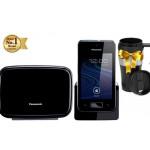 Telefon DECT Panasonic KX-PRX150PDB, android, 3G/ GSM/ DECT
